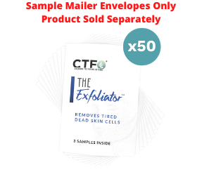 The Exfoliater® Sample Mailers - 50 Count